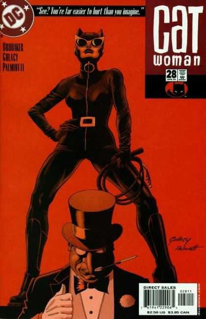 Catwoman (2001) 28 - Dc - Direct Sales - Belt - Cap - Approved By The Comics Code Authority