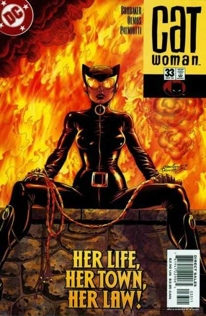 Catwoman (2001) 33 - Superhero - Fire - Direct Sales - Lash - Her Life