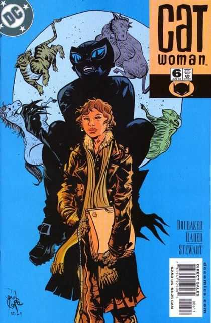 Catwoman (2001) 6 - Dc - Horse - Tiger - Woman - Shadow
