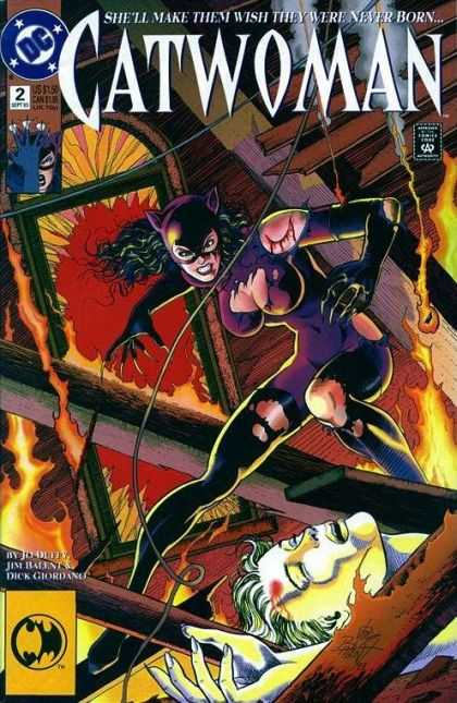 Catwoman 2 - Superhero - Maneater - Action - American - Darwyn Cooke