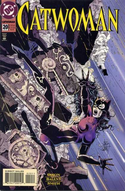 Catwoman 20 - Direct Sales - Does This Mean Subscribor Only - Ancient Skulls - Serounded By Water - Fingers Spread Far Apart - Excellent Colors - Cameron Stewart