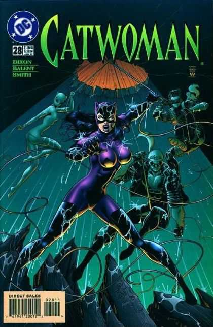 Catwoman 28 - Dc - Dixon - Balent - Smith - Direct Sales - Jimmy Palmiotti, Paul Gulacy