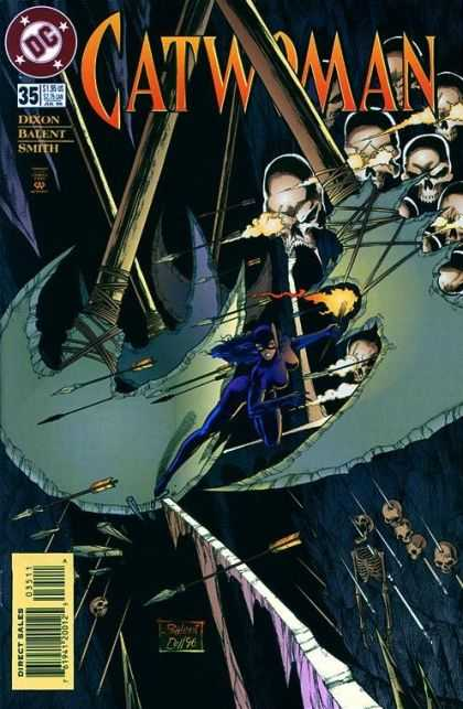 Catwoman 35 - Arrows - Dixon - Smith - Skulls - Catwoman - Jimmy Palmiotti, Paul Gulacy