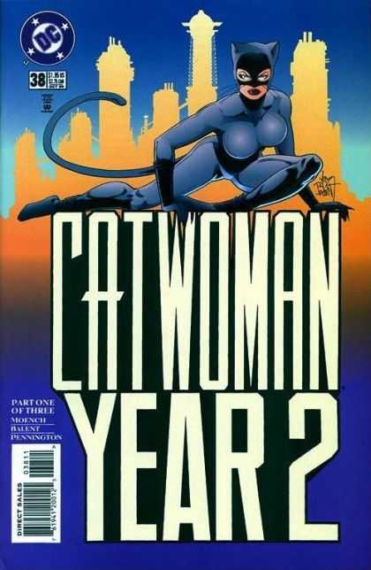 Catwoman 38 - Catwoman - 38 - Cityscape - Year 2 - Part One Of Three
