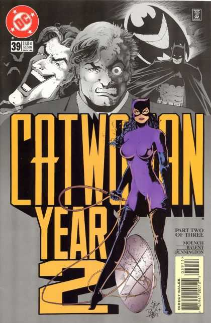Catwoman 39 - Batman - Joker - Two-face - Whip - Part Two Of Three - Jimmy Palmiotti, Paul Gulacy