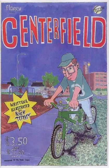 Centerfield 1 - Baseball - Bicycle - Ballfield - Jeffrey - Uniform
