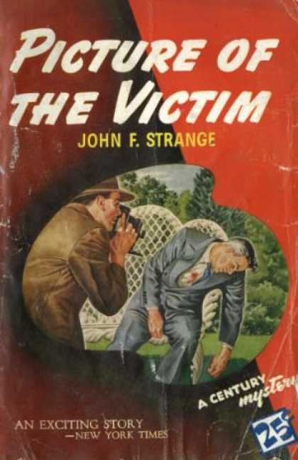 Century Books - Picture of the Victim - John F. Strange