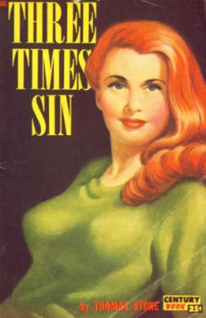 Century Books - Three Times Sin - Thomas Stone