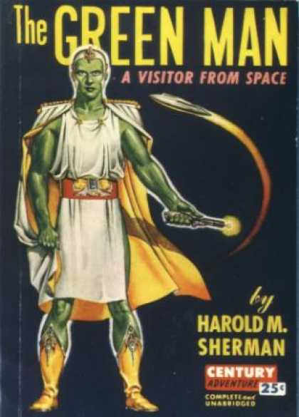 Century Books - The Green Man: A Visitor From Space - Harold M. Sherman