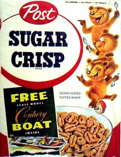 Cereal Boxes - Bears on unicycle