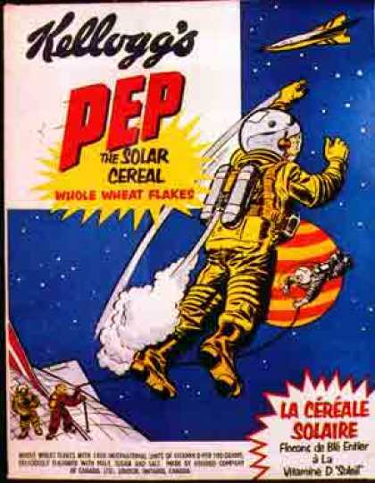 Cereal Boxes - Kellog's Pep, The Solar Cereal