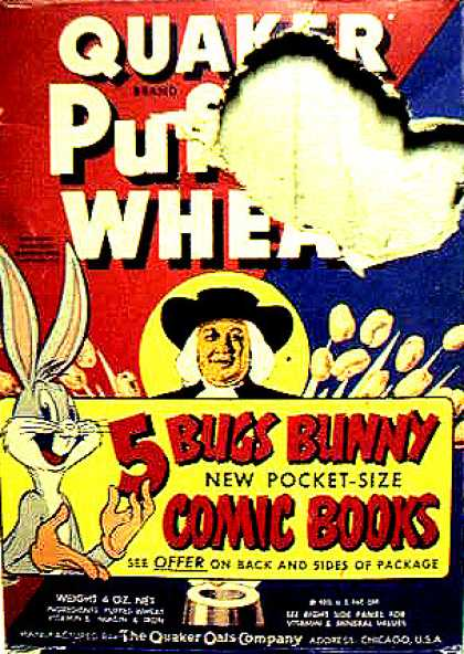 Cereal Boxes - Bugs Bunny