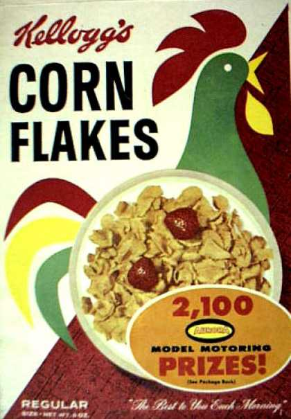 Cereal Boxes - Rooster