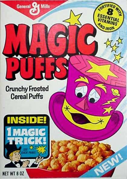 Cereal Boxes - Magic Hat