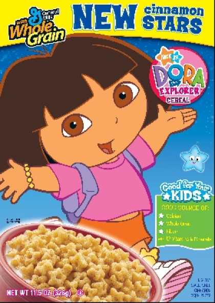 Cereal Boxes - Dora the Explorer Cereal