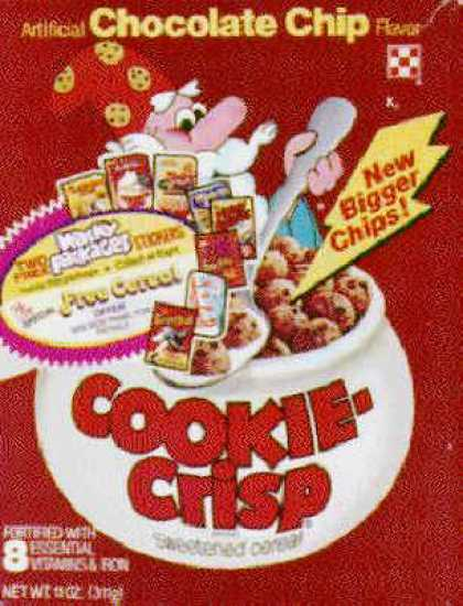 Cereal Boxes - Cookie Crisp