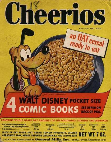 Cereal Boxes - Pluto