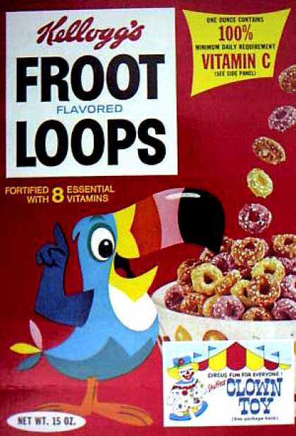 Cereal Boxes - Toucan Sam