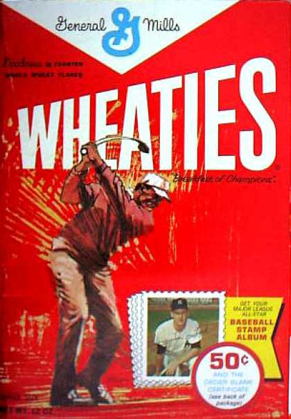 Cereal Boxes - golfer
