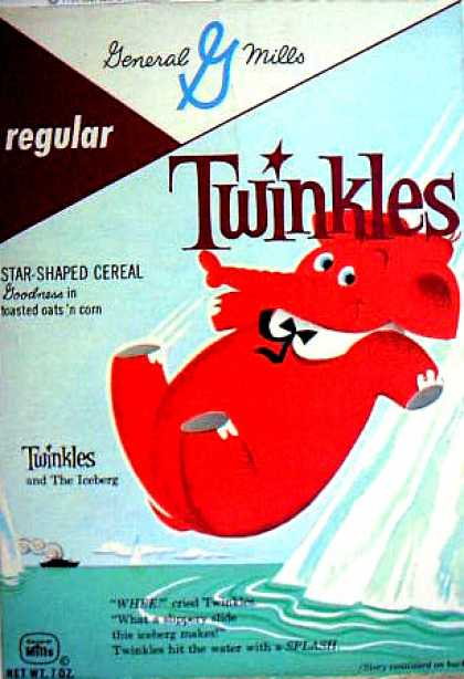 Cereal Boxes - Twinkles