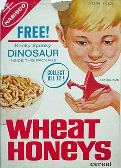 Cereal Boxes - Kid with Dino