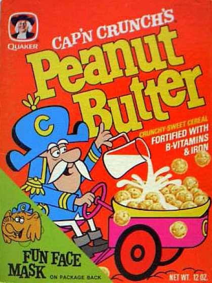Cereal Boxes - Cap'n in car