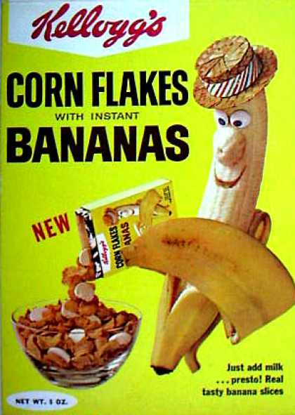 Cereal Boxes - Banana