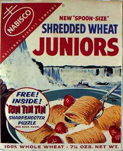 Cereal Boxes - Nabisco Shredded Wheat Juniors