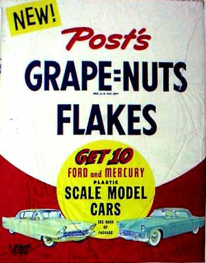 Cereal Boxes - Cars