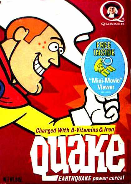 Cereal Boxes - Cowboy Quake