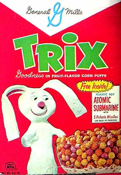 Cereal Boxes - Sock Rabbit