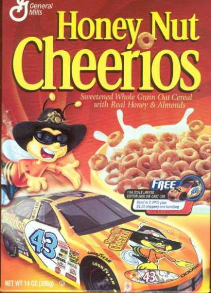 Cereal Boxes - Honey Nut Cheerios