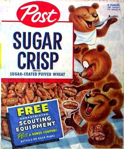 Cereal Boxes - Bears