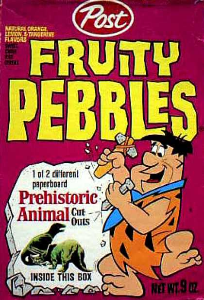 Cereal Boxes - Fred Flintstone