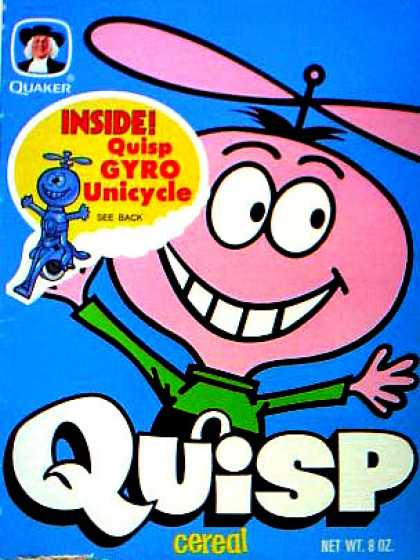 Cereal Boxes - Quisp