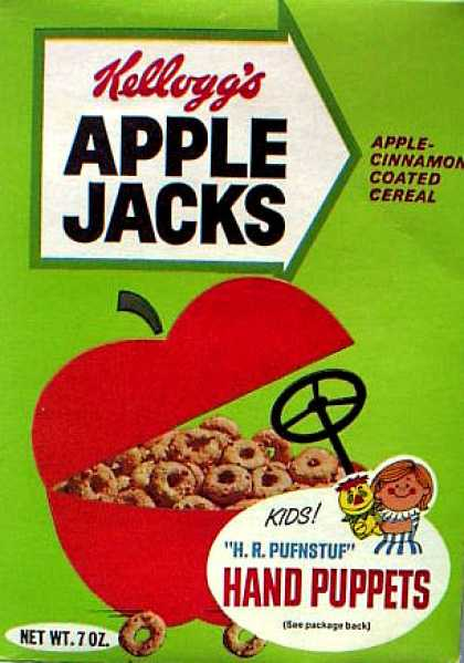 Cereal Boxes - Apple car