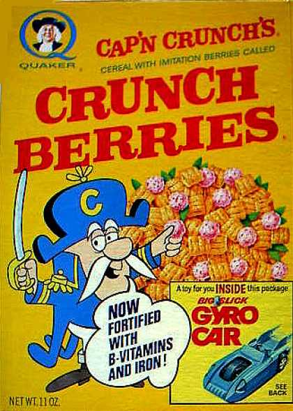 Cereal Boxes - Cap'n w/ tree