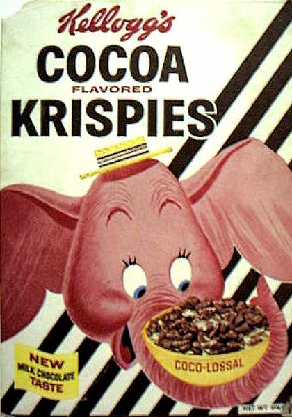 Cereal Boxes - Melvin the Elephant