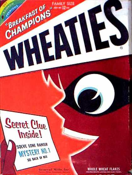 Cereal Boxes - Red kid w/ mask