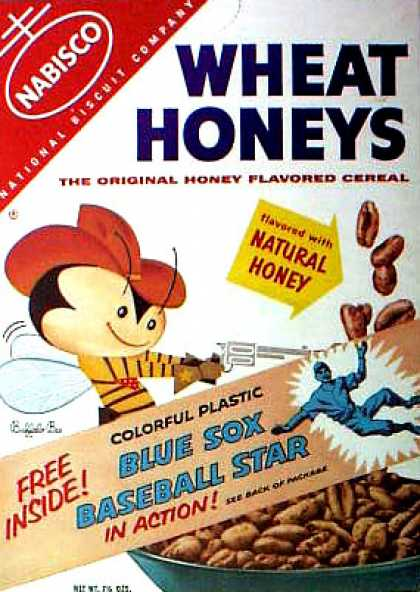 Cereal Boxes - Buffalo Bee