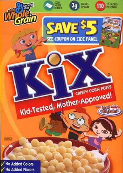Cereal Boxes - Kix Crispy Corn Puffs