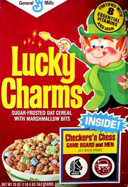 Cereal Boxes - Lucky