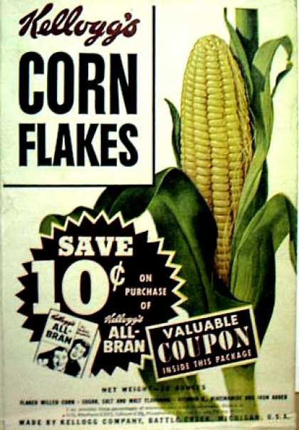 Cereal Boxes - Corn