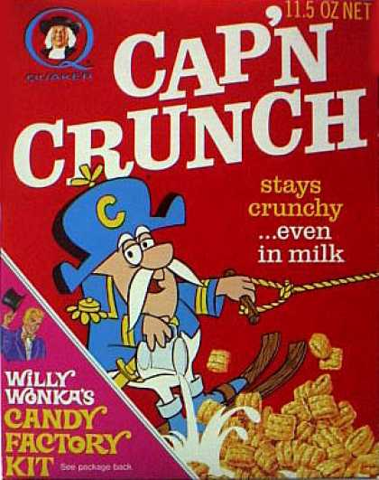 Cereal Boxes - Cap'n water-skiing
