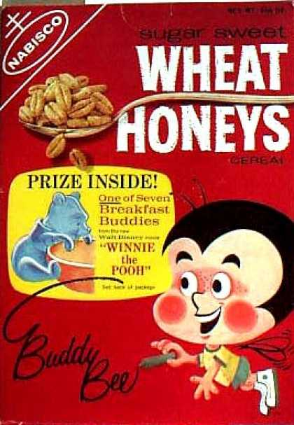 Cereal Boxes - Buddy Bee