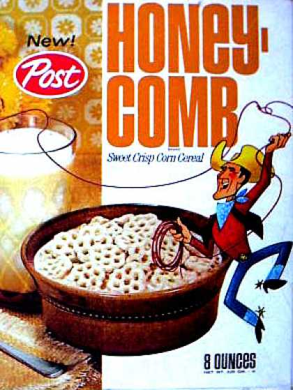 Cereal Boxes - Honeycomb Kid
