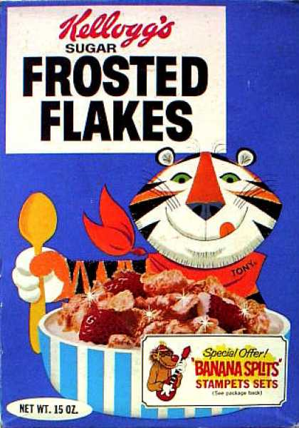 Cereal Boxes - Tony the Tiger