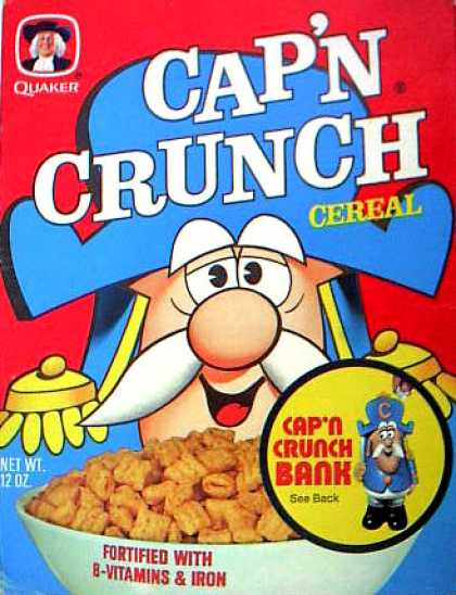 Cereal Boxes - Cap'n