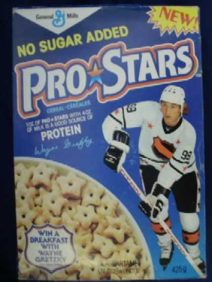 Cereal Boxes - Pro-Stars