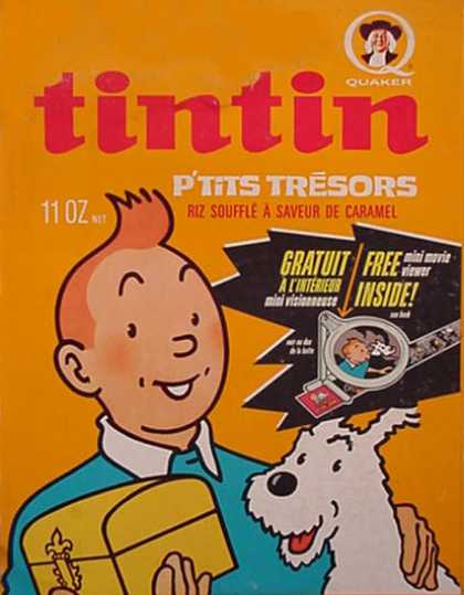 Cereal Boxes - Tin Tin